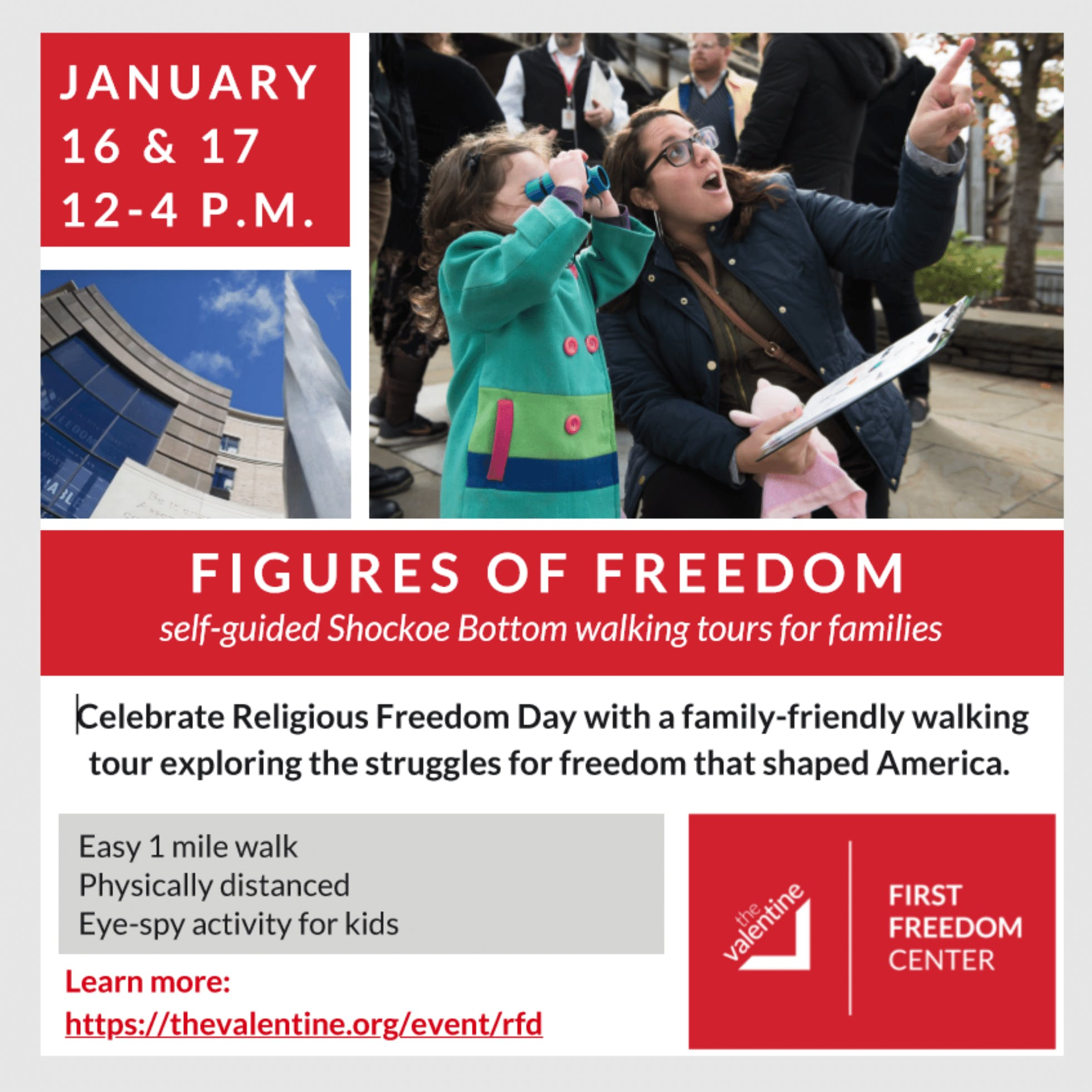 Religious Freedom Day Self-Guided Walking Tour