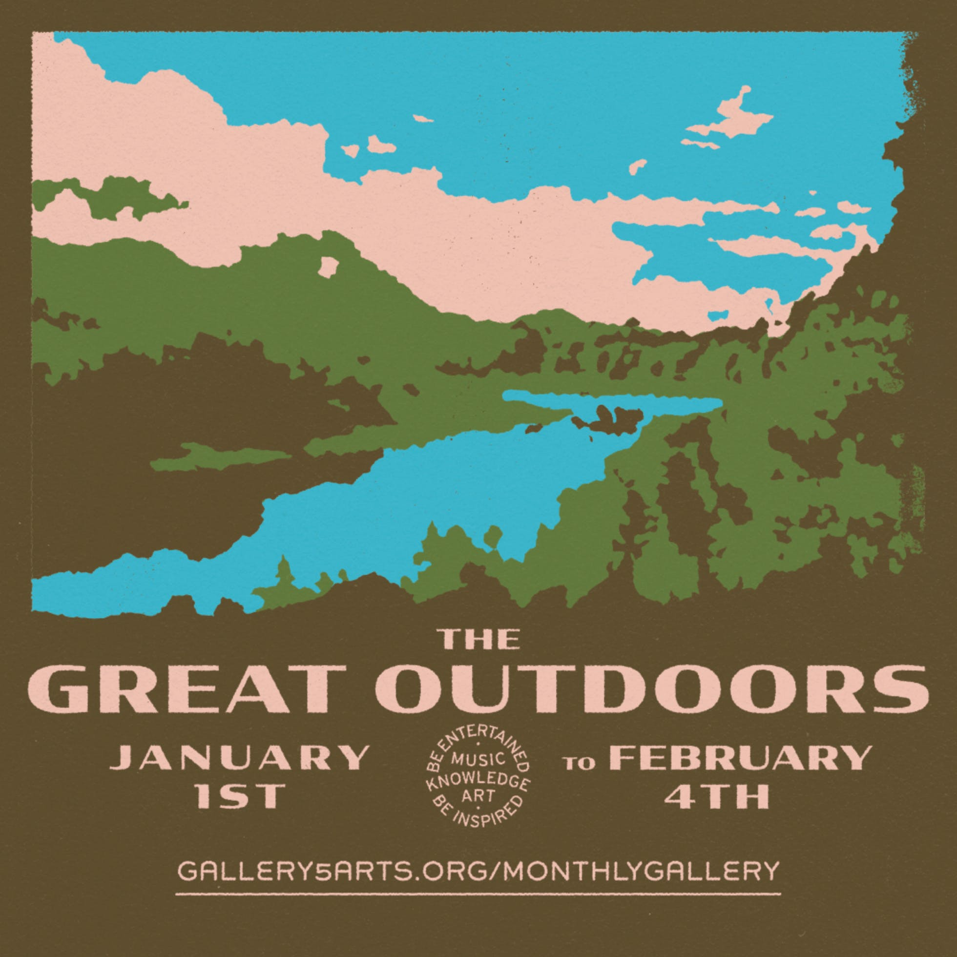 Gallery 5's Virtual Monthly Gallery: The Great Outdoors