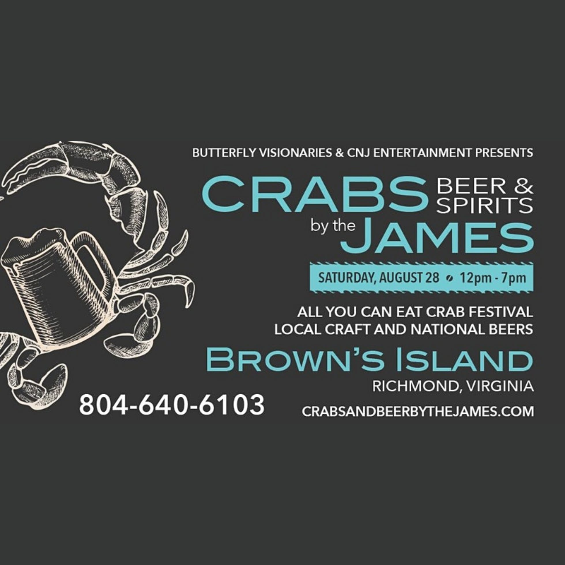 Crabs, Beers & Spirits by the James