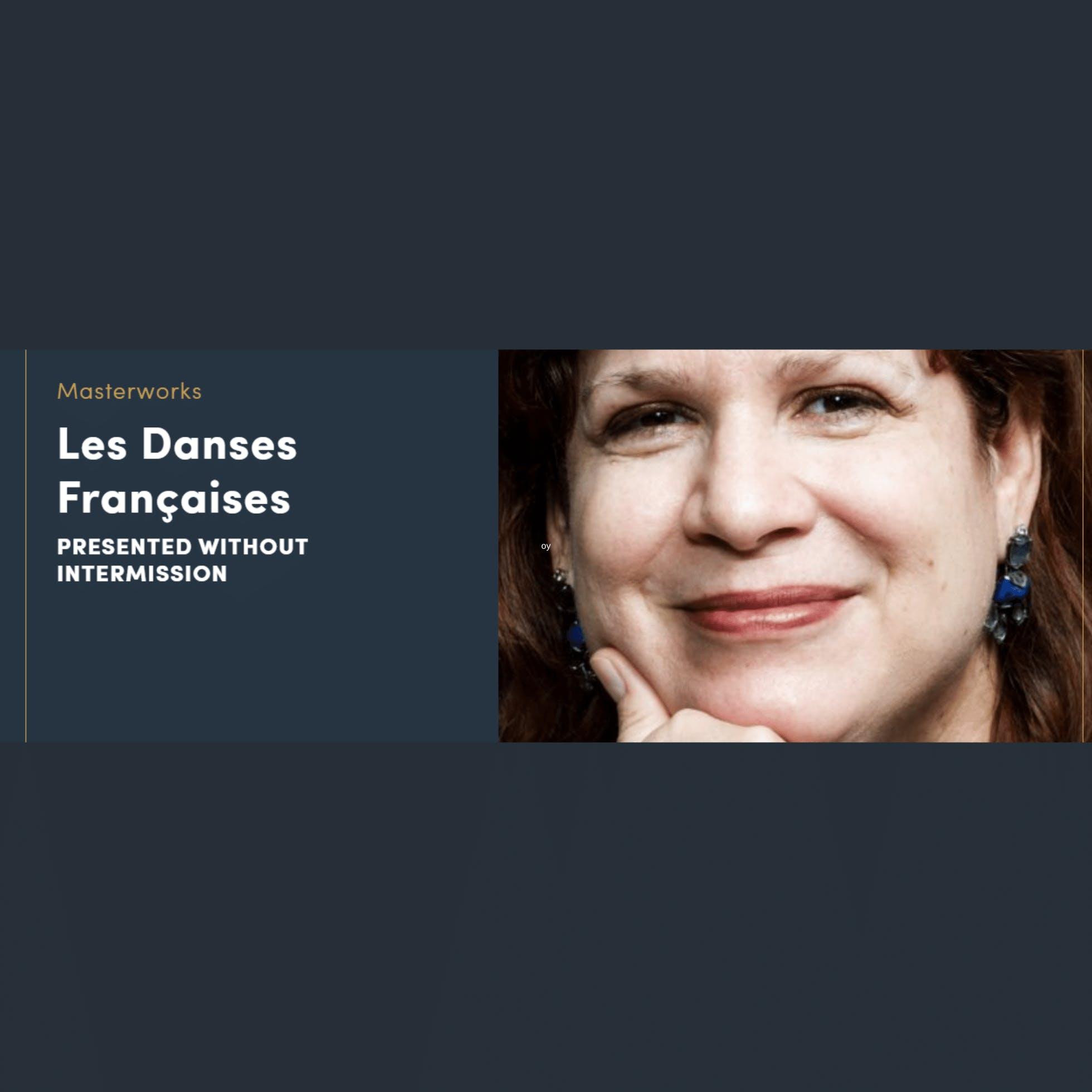 Les Danses Françaises with Richmond Symphony