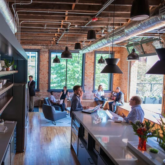 Co-Working Spaces & Shared Office Spaces in Downtown Richmond