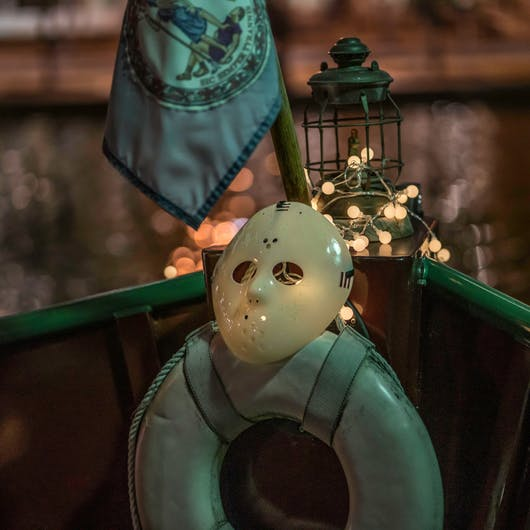 Eerie Halloween Canal Cruises in Downtown Richmond