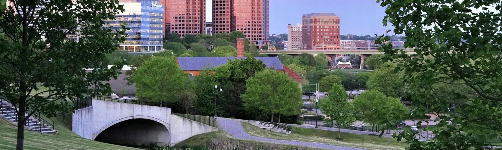 Downtown Richmond Skyline