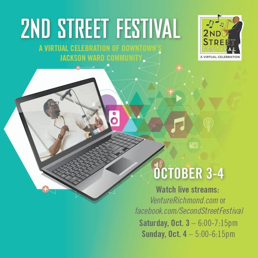 The 2020 2nd Street Festival Goes Virtual!