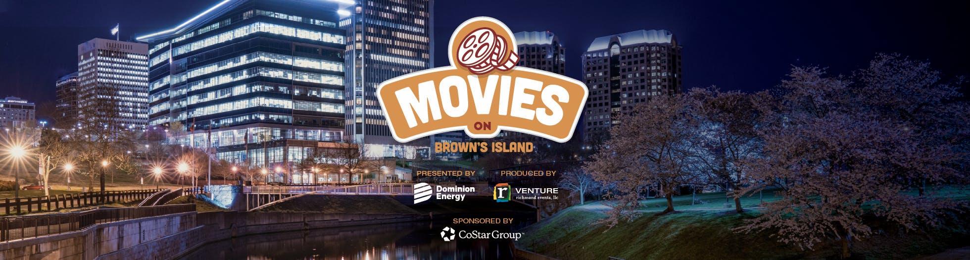 Movies on Brown's Island