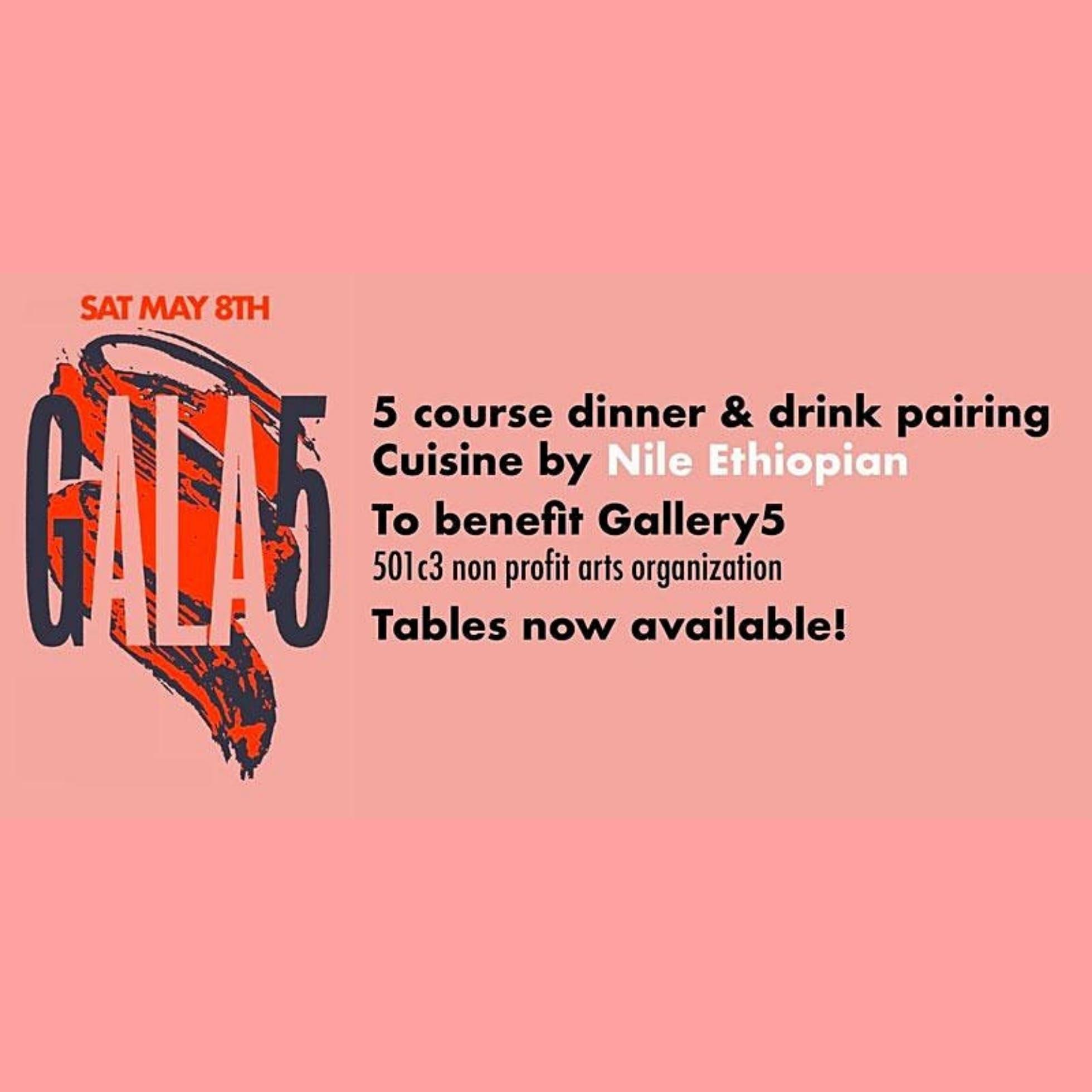 GALA5 Gallery5 Fundraiser Dinner