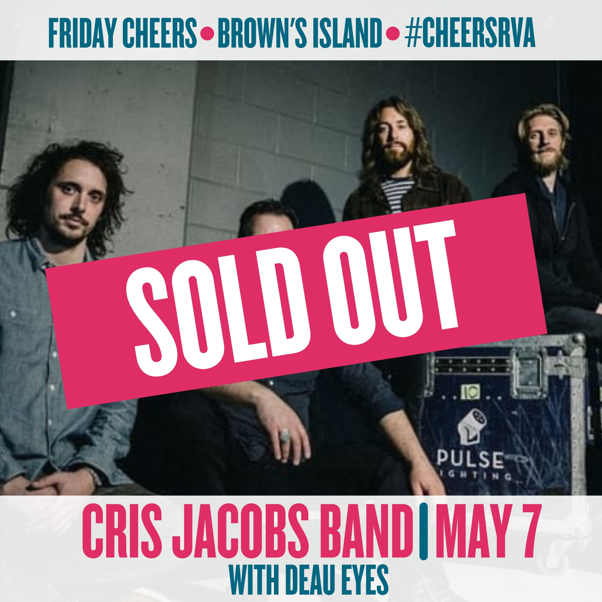 Cris Jacobs Band with Deau Eyes