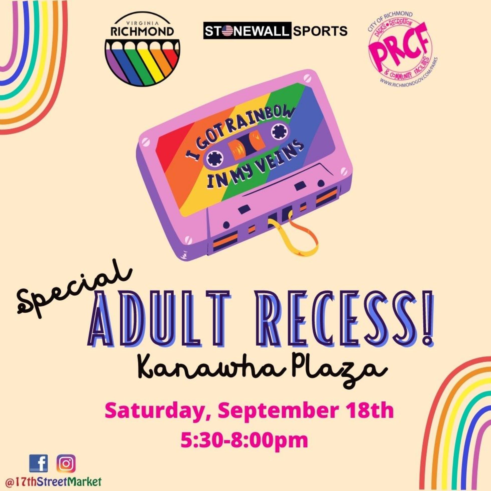 Special Adult Recess