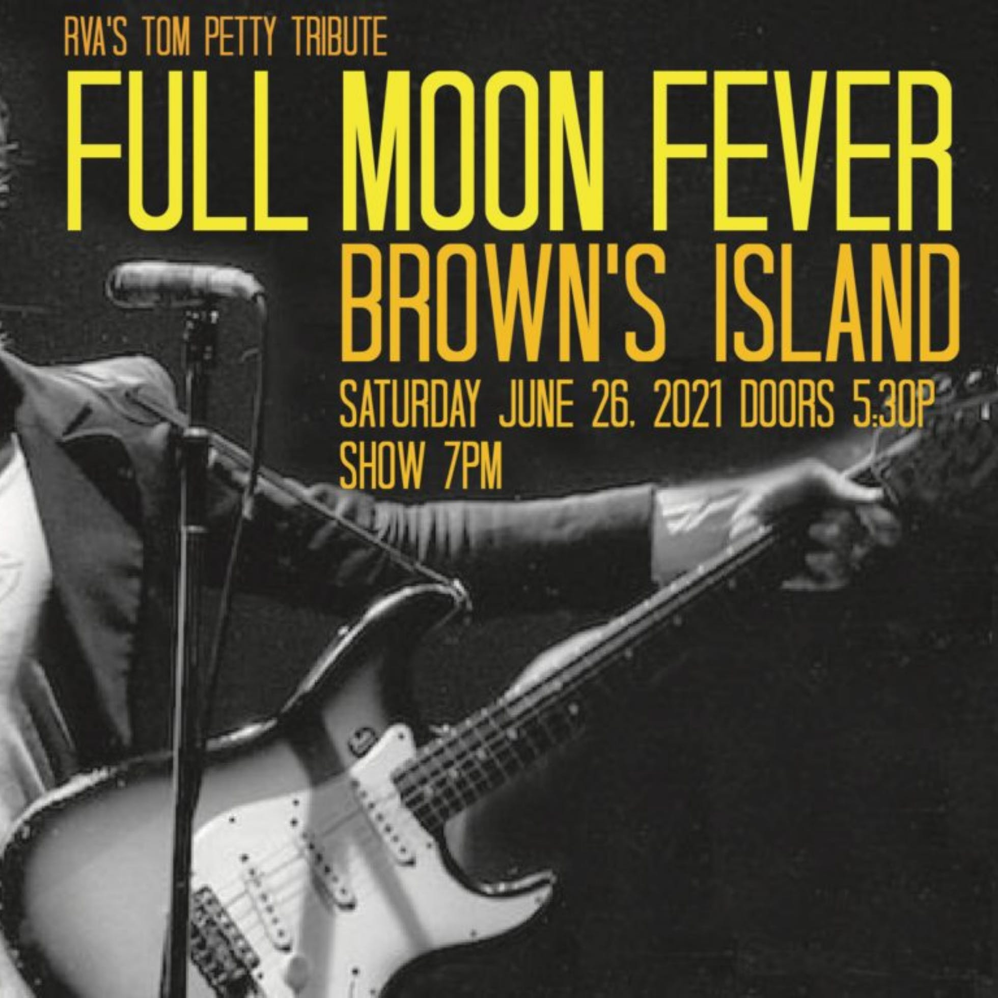 Full Moon Fever: A Tom Petty Tribute at Brown's Island