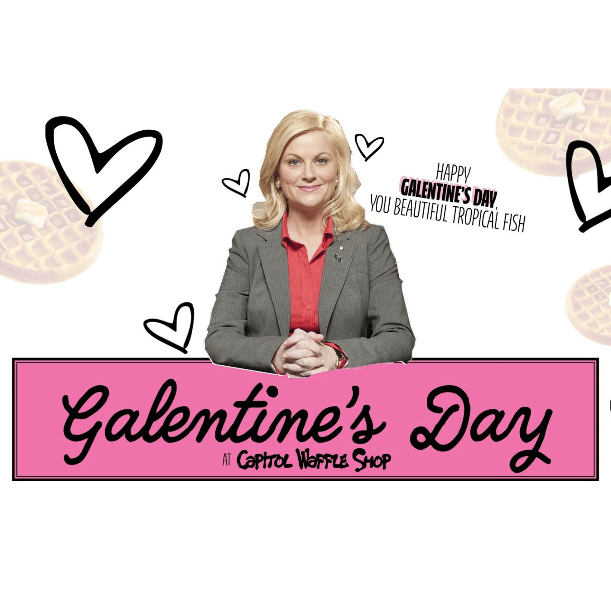 Galentine's Day at Capitol Waffle Shop