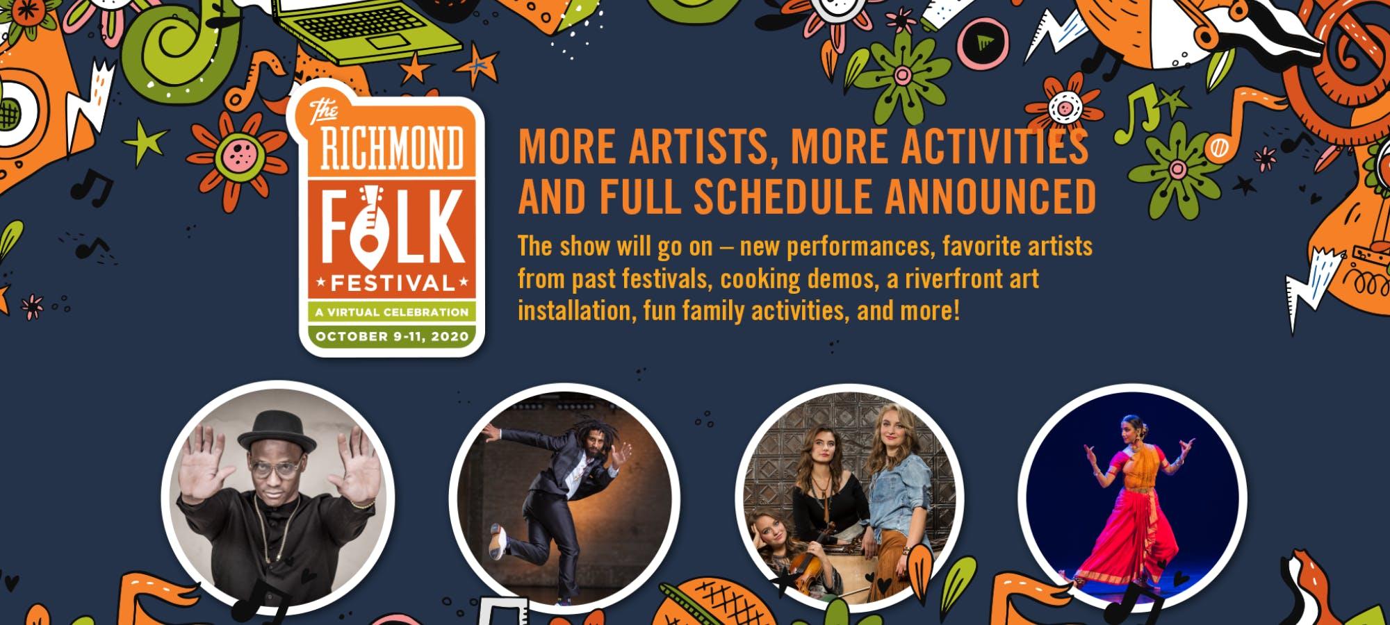2020 Virtual Richmond Folk Festival