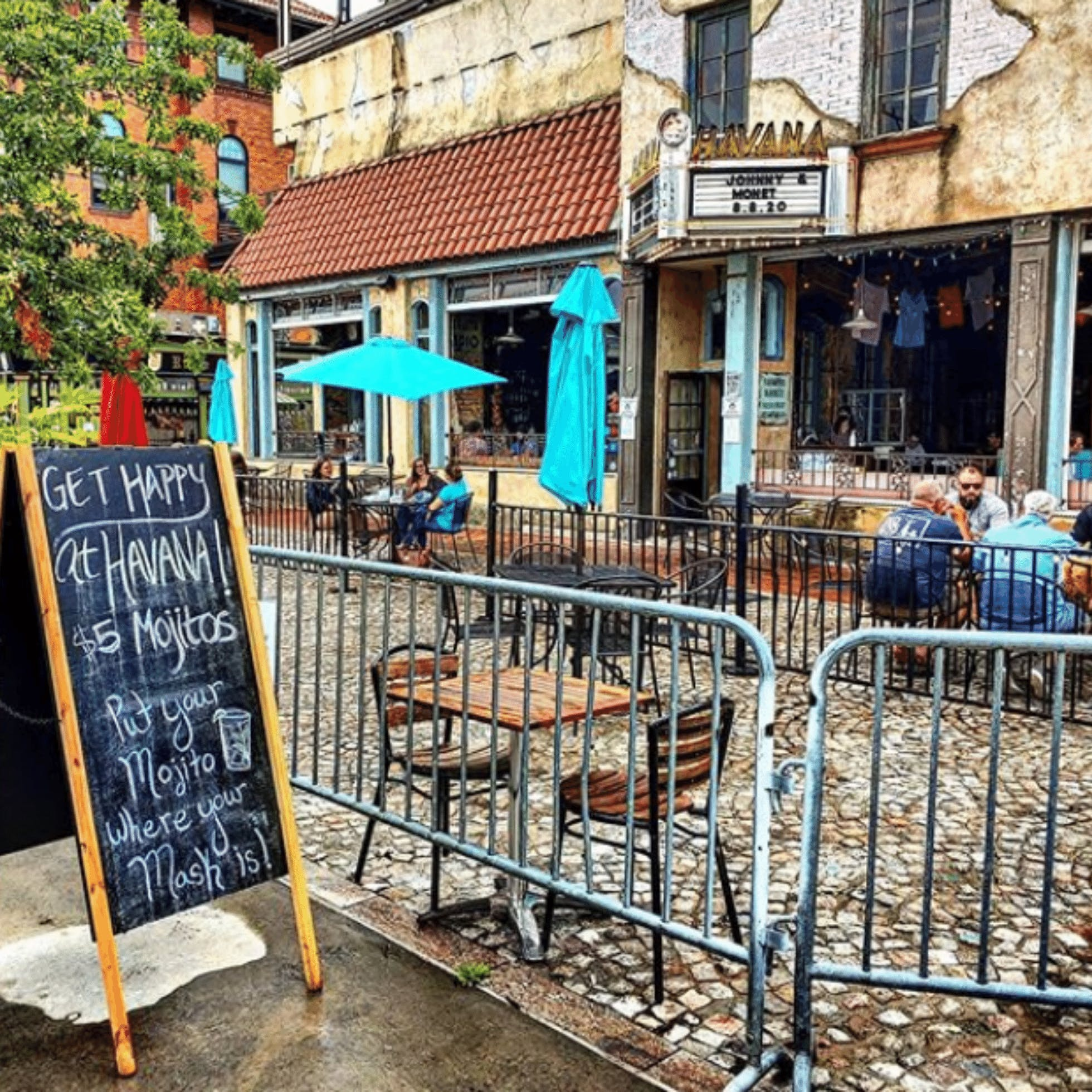 Havana '59  - 15 Restaurants for Outdoor Dining in Downtown Richmond