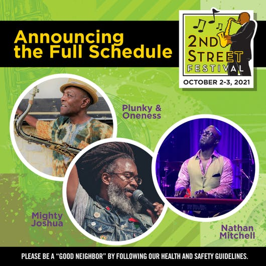 Your Music Guide to the 2021 2nd Street Festival