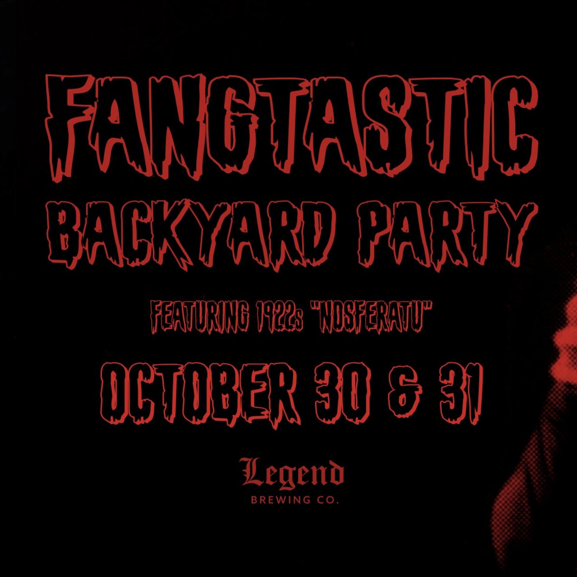 Legend Brewing's Fangtastic Backyard Party