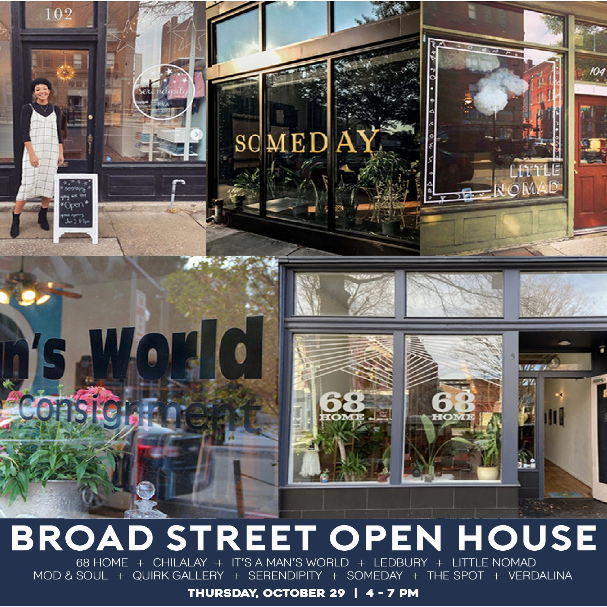 Broad is Back: Support the Arts District and Shop Small!