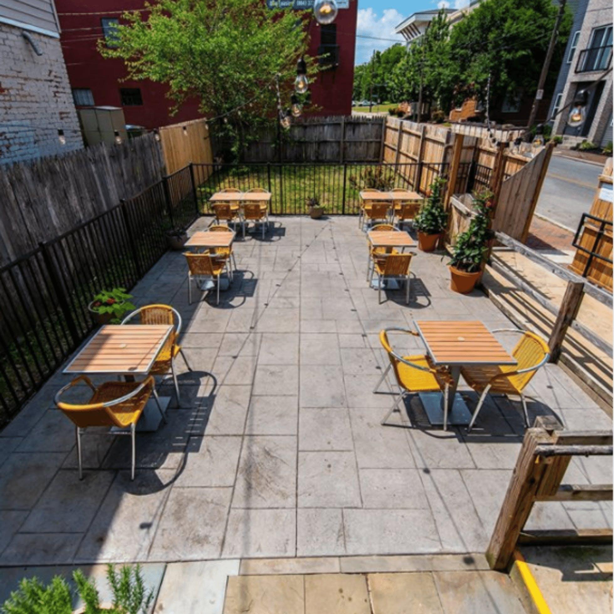Adarra Patio  - 15 Restaurants for Outdoor Dining in Downtown Richmond