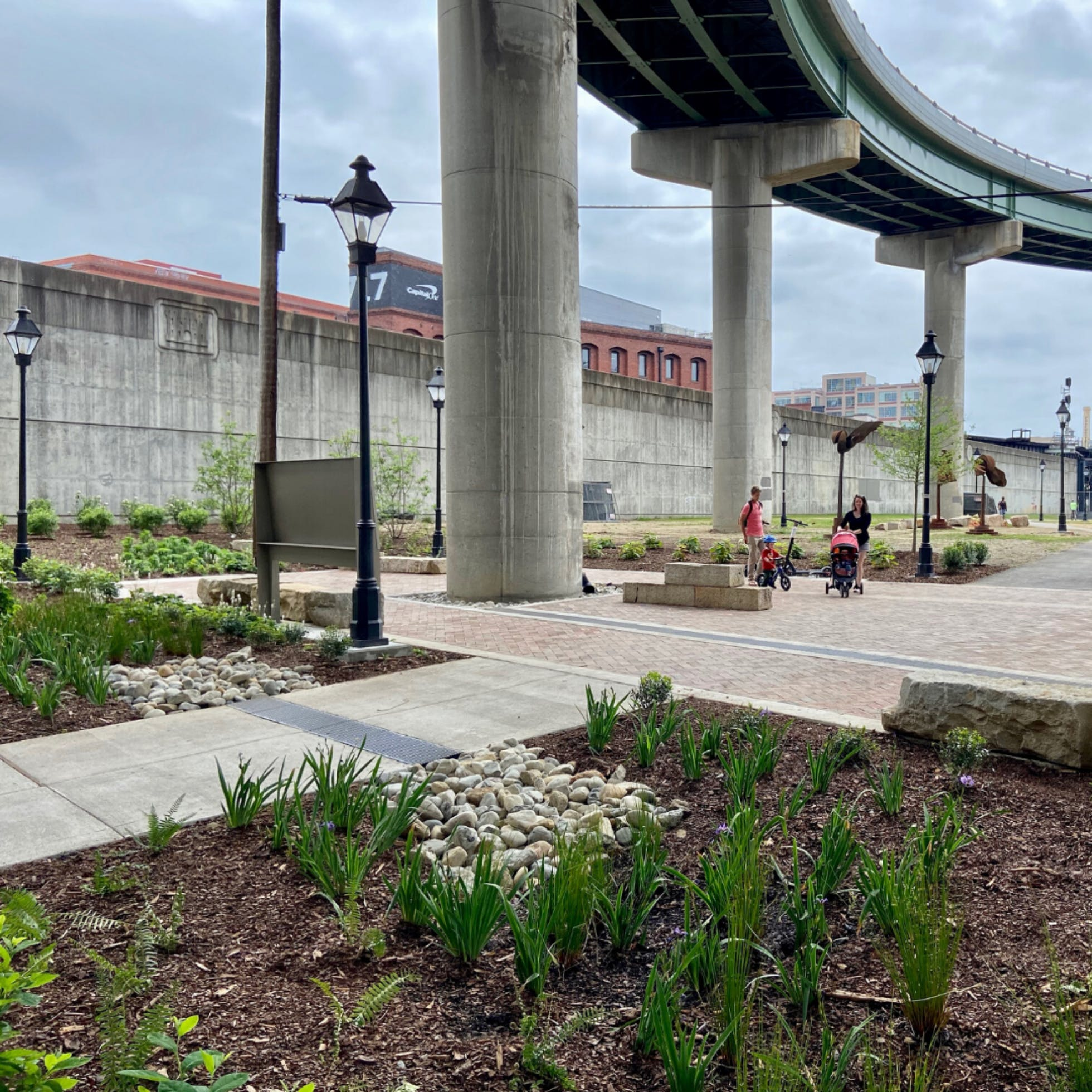 Low Line Green Brings New Life to Downtown Richmond's Riverfront
