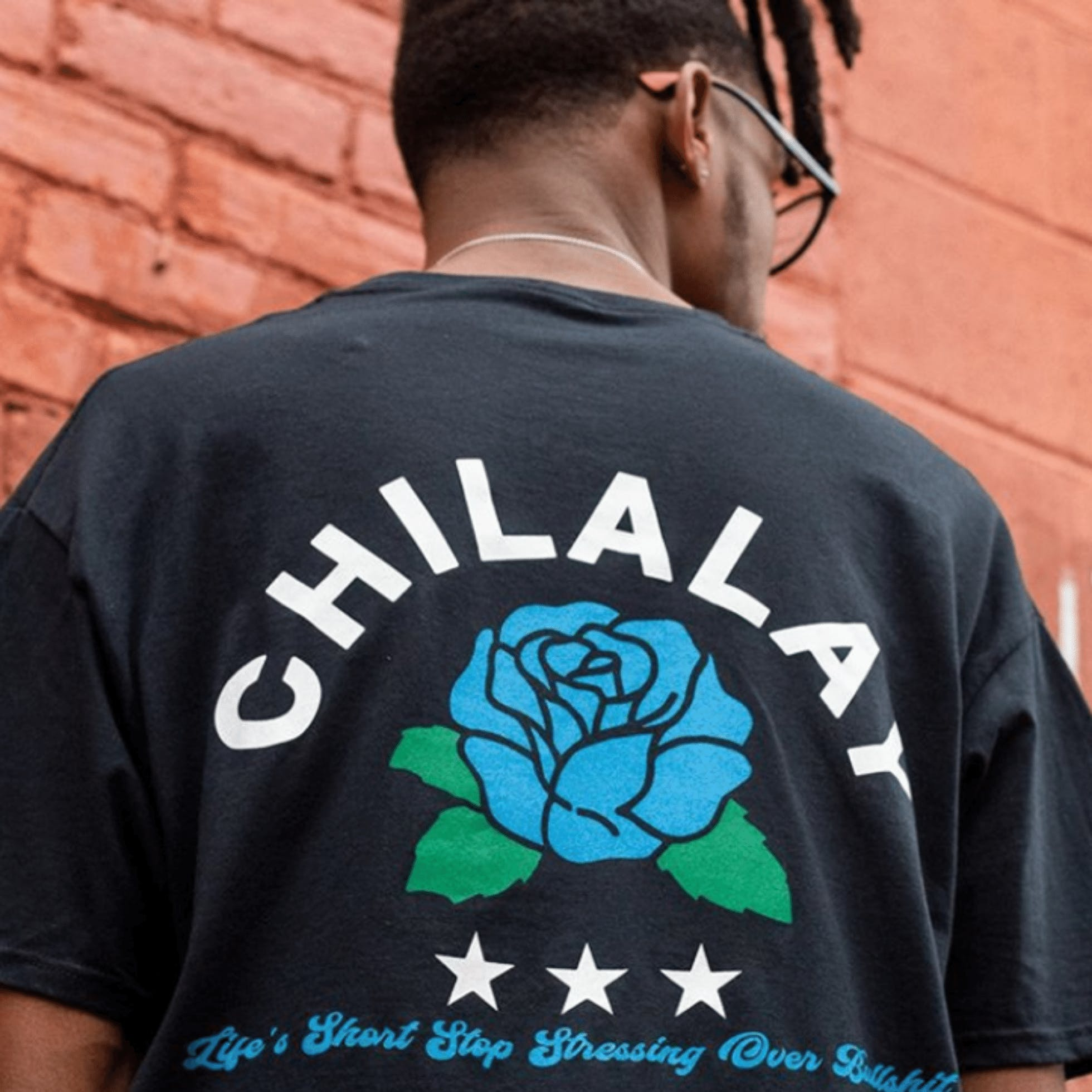 Back of shirt from CHILALAY in Richmond VA