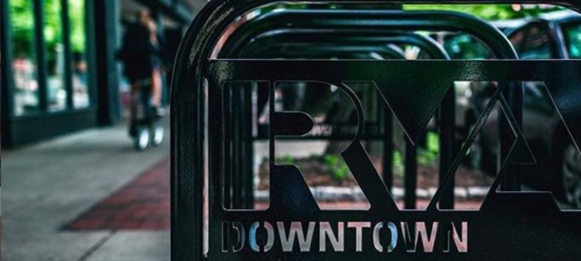 Downtown Richmond Bike Racks