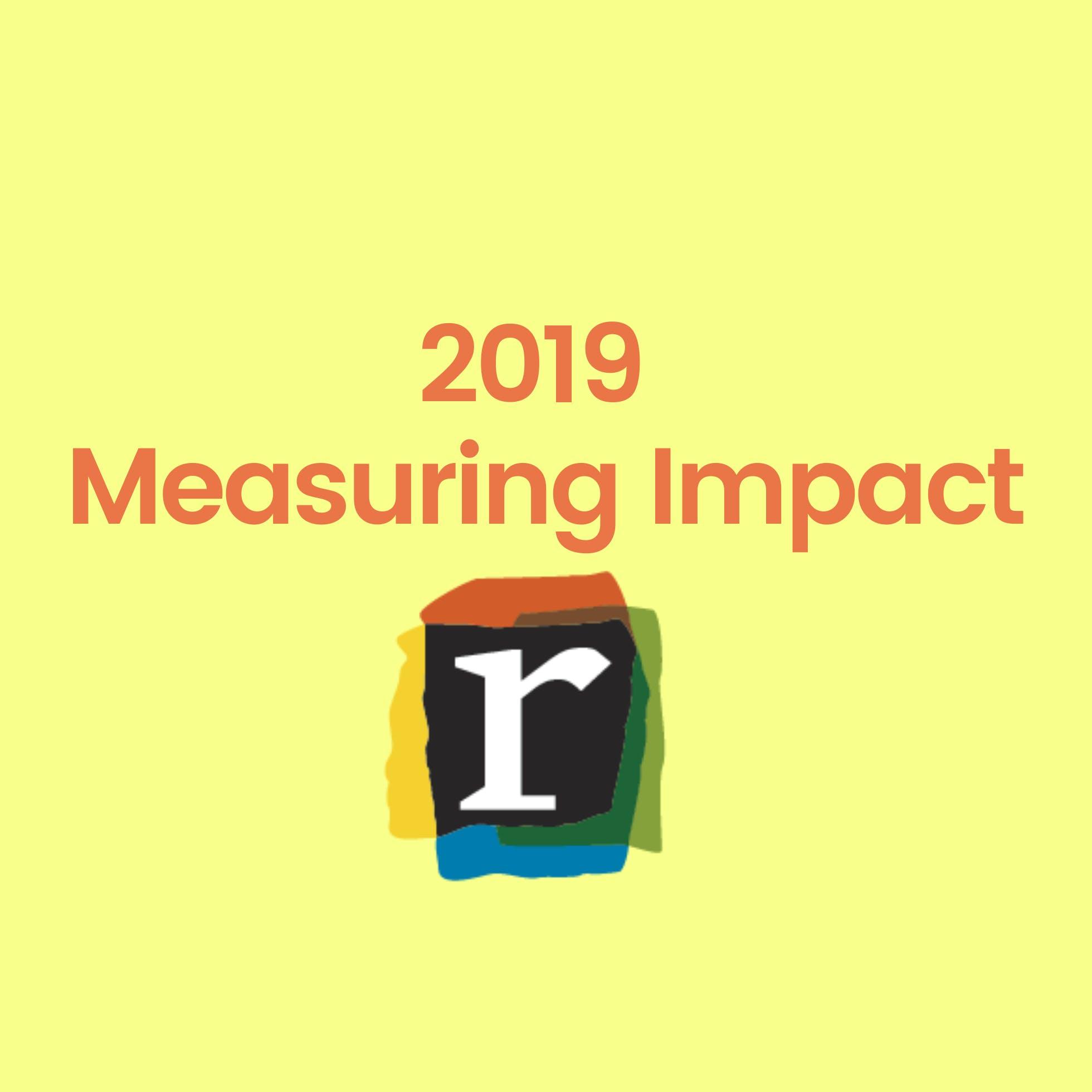 2019 Measuring Impact