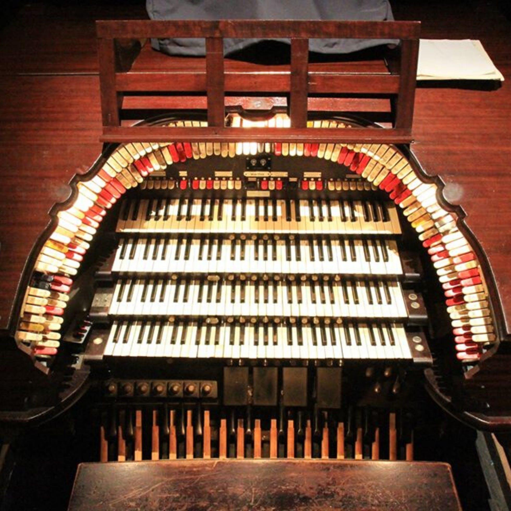 Facebook Live Virtual Tour: The Mighty Wurlitzer Organ