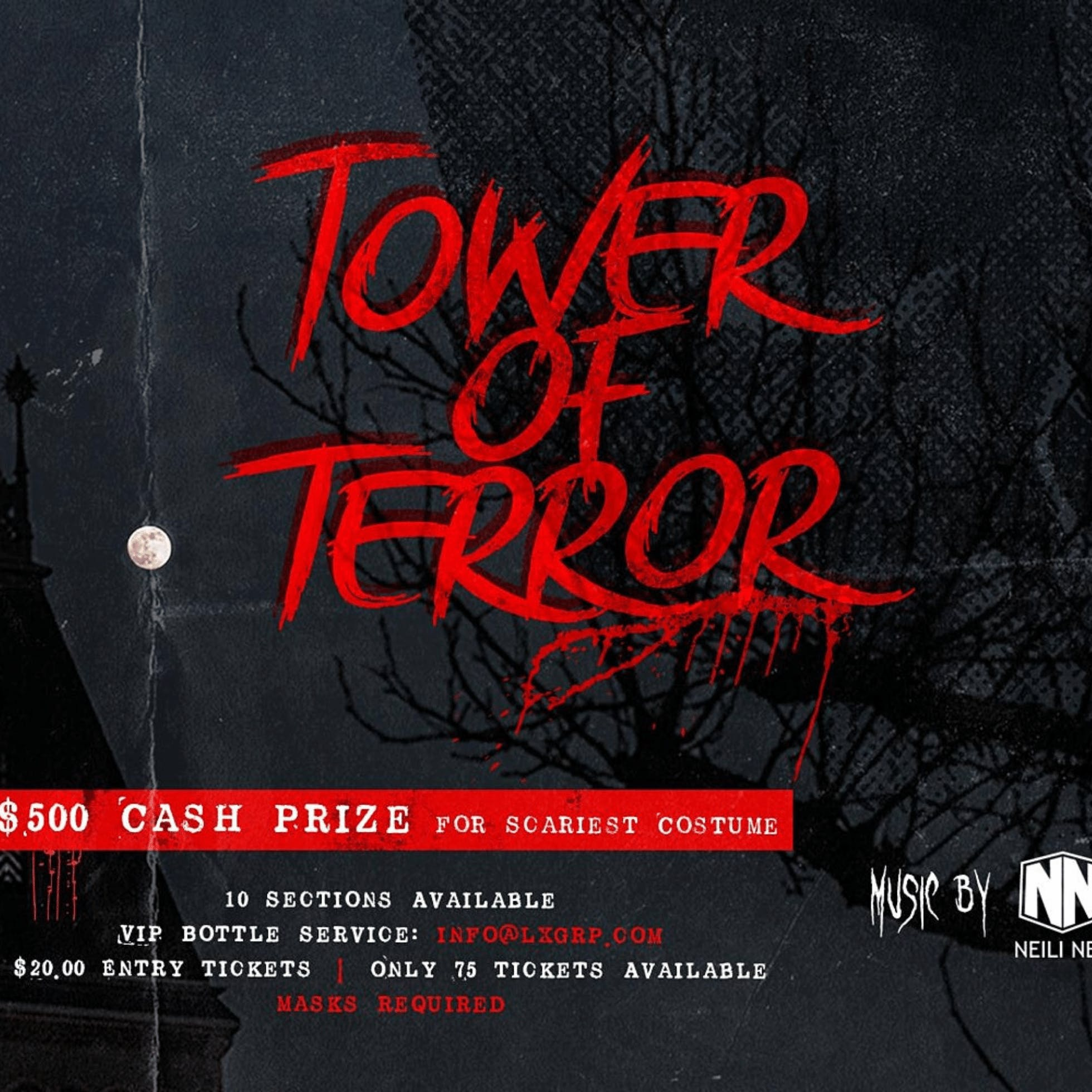 Kabana Rooftop Presents: Tower of Terror
