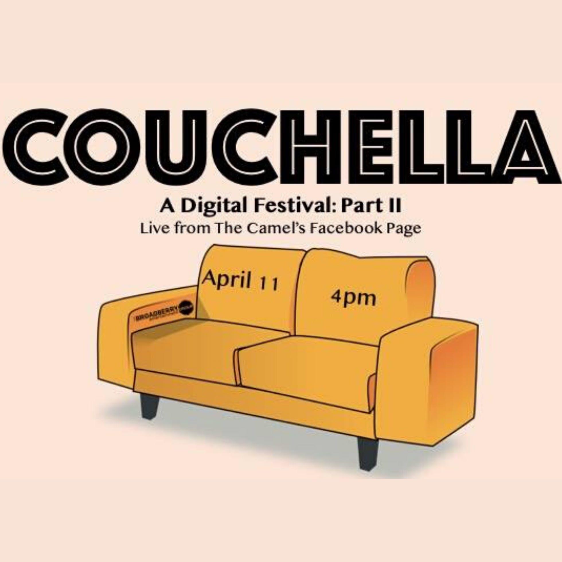 Couchella: A Free Digital Festival