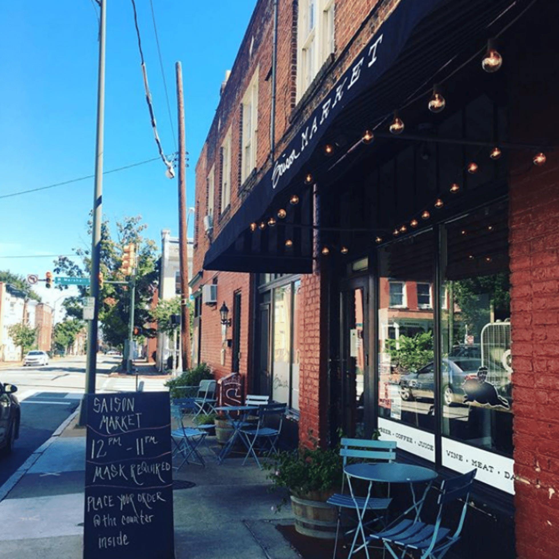 Saison Market  - 15 Restaurants for Outdoor Dining in Downtown Richmond