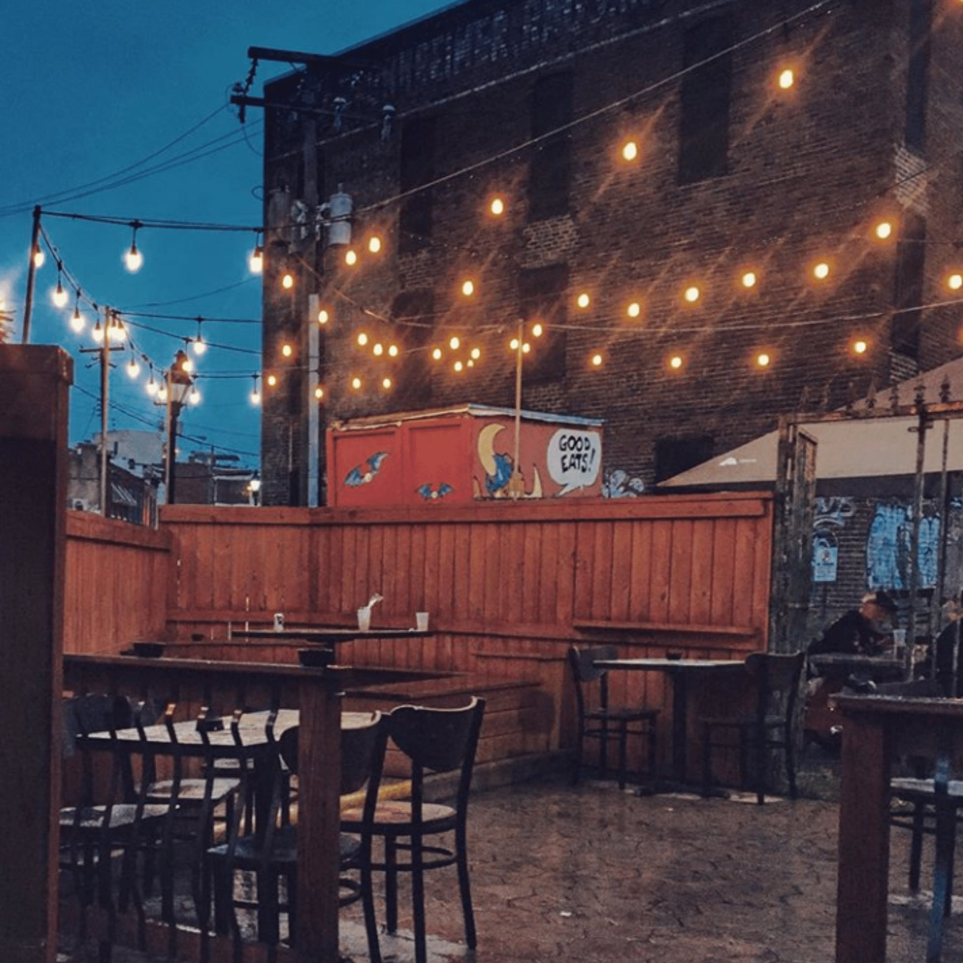 GWARbar patio  - 15 Restaurants for Outdoor Dining in Downtown Richmond